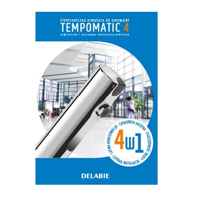 Armatura elektroniczna do umywalki TEMPOMATIC 4
