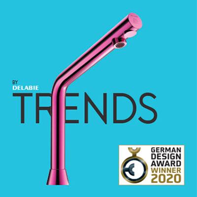 Magazyn TRENDS BY DELABIE nagrodzony German Design Award 2020