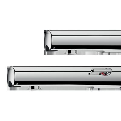 Ścienna armatura elektroniczna TEMPOMATIC 4: baterie i zawory do umywalki łączące design i higienę