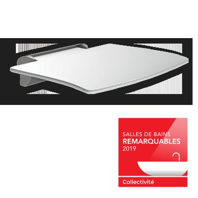 Nagroda główna dla siedziska natryskowego BE-LINE®: Laureat konkursu Salles de Bains Remarquables 2019