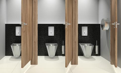 System spłukiwania bezpośredniego WC, rewolucja w przestrzeni publicznej
